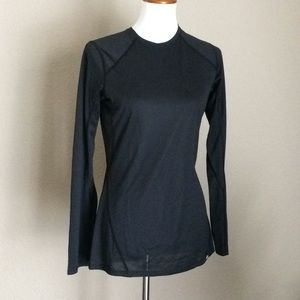 REI Co op long sleeves black top Sz M